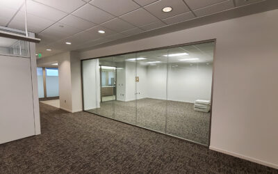New Demountable Walls Provide Acoustical Privacy and Flexibility to Area Law Firm