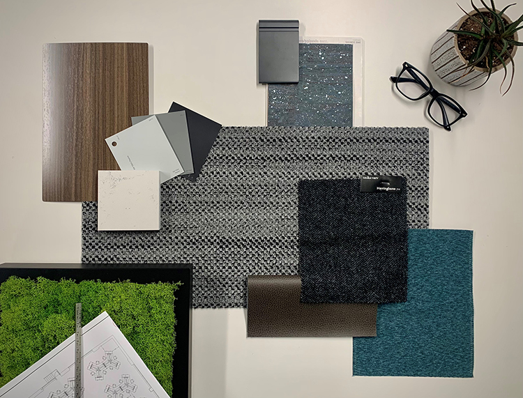 selecting finishes interior design